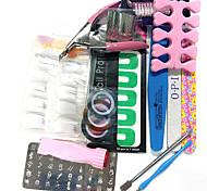 la quantité d'emballage kit ongles nail art décoration nail art style type 14sets diy