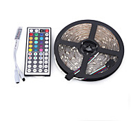 cheap -Light Sets 300 LEDs RGB Remote Control / RC Cuttable Dimmable Waterproof Color-Changing Self-adhesive Suitable for Vehicles Linkable 12V