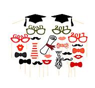 abordables -L'obtention du diplôme / Fête scolaire / Fête de Mariage Papier cartonné Matériel mixte Décorations de Mariage Thème classique Toutes