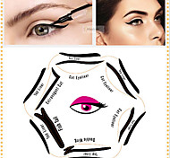 1 Pcs Pop Look Line Card 6 In 1 Draw The Cat'S Eye Beauty Makeup Six Shapes