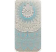 For Huawei Mate 9 Nova Y600 Maimang 5 Blue Pattern Painting TPU Phone Case