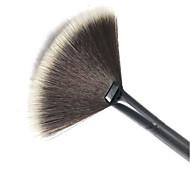 1Pc Slim Fan Shape Cosmetic Brush Powder Concealer Blending Finishing Highlighter Highlighting Makeup Brush Nail Art Brush