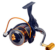 Fishing Reel Spinning Reels 2.6:1 16 Ball Bearings Exchangable General Fishing-XF3000
