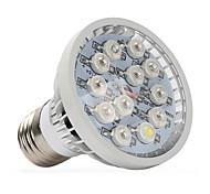Недорогие -1шт 400-500 lm E14 GU10 E27 Растущие лампочки 12 светодиоды Высокомощный LED Тёплый белый UV (лампа черного света) Синий Красный AC
