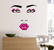 cheap -Abstract People Fashion Wall Stickers Plane Wall Stickers Decorative Wall Stickers, Paper Home Decoration Wall Decal Wall Glass/Bathroom