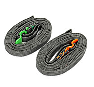 Outdoor Travel Equipment Tightening Belt Binding Straps Luggage Tie Strap Stainless Steel Striped Type 1PC