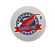 Gasoline Pattern Decorative Car Sticker