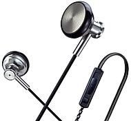 Original SUR MJ1636 Hight Quality Metal In Ear Headphones In-ear Earphone HD HiFi Headset Good Bass For IPhone XIAOMI Samsung