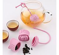Недорогие -1шт пластик Ситечко для чая Инструкция ,