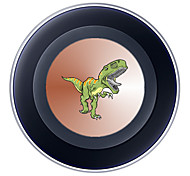 Portable  5V 2A Green Dinosaur Wireless Charging Pad/Stand for All QI-Enabled Devices Samsung Galaxy S7  S7 Edge S6   S6 EdgeGoogle Nexus 4  5