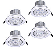cheap -ZDM® 7 LEDs Adjustable Dimmable LED Recessed Lights Warm White Cold White Natural White AC110 AC220 AC 12V