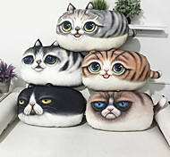 cheap -1 pcs Cotton Velvet Novelty Pillow, Animal Print Casual