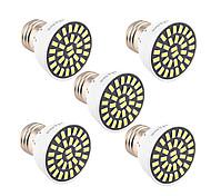 abordables -5pcs 5W 500-600 lm E26/E27 Spot LED T 32 diodes électroluminescentes SMD 5733 Décorative Blanc Chaud Blanc Froid AC 85-265V