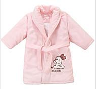 Fresh Style Bath Robe,Solid Superior Quality 100% Coral Fleece Towel