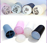 cheap -1 Stamping Plate Other Decorations 3D Nail Acrylic Molds Abstract Fashion High Quality Daily