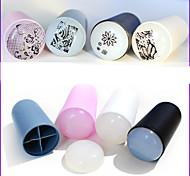 Недорогие -1 Штамповка плиты Другие украшения 3D-акриловые формы для ногтей Абстракция Мода Высокое качество Повседневные