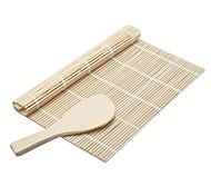 2 ед. Рисовые шарики шпатель Инструмент для суши For Для Райс Бамбук Экологичность Высокое качество Творческая кухня Гаджет
