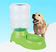 cheap -L Dog Bowls & Water Bottles Pet Bowls & Feeding Reflective Red / Green / Blue