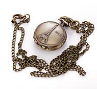 Men's Pocket Watch Necklace Watch Quartz Alloy Band Vintage Charm Casual Multi-Colored