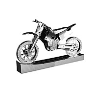 cheap -Toy Cars 3D Puzzles Jigsaw Puzzle Metal Puzzles Toy Motorcycles Motorcycle Toys Motorcycle Famous buildings Architecture 3D Novelty DIY