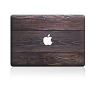cheap -1 pc Skin Sticker for Scratch Proof Wood Grain Pattern PVC MacBook Pro 15'' with Retina MacBook Pro 15'' MacBook Pro 13'' with Retina