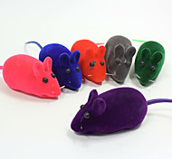 cheap -Chew Toy Interactive Squeaking Toy Squeak / Squeaking Mouse Rubber For Cat Toy Dog Toy