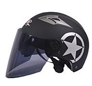 Недорогие -GXT m11 мотоцикл половина шлем двойной линзы Харли солнцезащитный шлем летом унисекс подходит для 55-61cm с длинными чай зеркало линзы