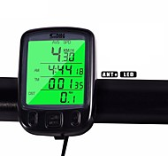 Cycling/Bike Computer Waterdichte  Lcd Backlight Av - Average Speed Odo - Odometer Backlight Tme - Lapsed Time SPD - Current
