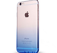 For iPhone X iPhone 8 Case Cover Ultra-thin Translucent Back Cover Case Color Gradient Soft TPU for Apple iPhone X iPhone 8 Plus iPhone 8