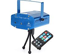 Недорогие -U'King LED PAR-прожектор Портативные Простая установка На пульте управления Активация звуком Зеленый Красный