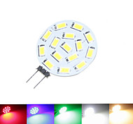 cheap -SENCART 1.5W 100-150 lm G4 LED Spotlight MR11 15 leds SMD 5630 Dimmable Warm White Natural White Green Blue Red 9-30 DC 24V AC 24V AC 12V
