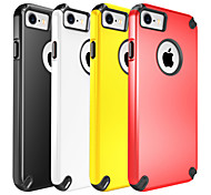 For Apple iPhone 7 Plus iPhone 7 Case Cover The Plastic with TPU Frame