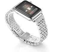 Недорогие -Часовая группа для серии часов яблока 2 серии 1 браслет из нержавеющей стали с бриллиантовым бриллиантом