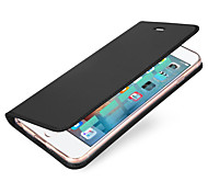 cheap -Case For Apple iPhone X iPhone 8 Card Holder Flip Magnetic Full Body Cases Solid Color Hard PU Leather for iPhone X iPhone 8 Plus iPhone