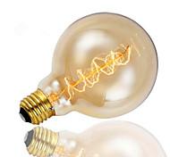 baratos -1pç 40W E26/E27 G125 2300 K Incandescente Vintage Edison Light Bulb AC 220V AC 220-240V V