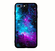 For iPhone X iPhone 8 Case Cover Pattern Back Cover Case sky Scenery Hard Acrylic for Apple iPhone X iPhone 8 Plus iPhone 8 iPhone 7 Plus