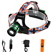U'King Headlamps Headlight LED 1000 lm 3 Mode Cree XM-L T6 Adjustable Focus High Power Easy Carrying for Camping/Hiking/Caving Everyday