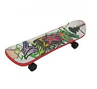 Недорогие -Мини скейтборды и велосипеды Хобби и досуг Роликобежный спорт Пластик Радужный Для мальчиков Для девочек