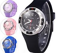 Women's Sport Watch Dress Watch Digital Watch Digital Rubber Band Cool Black Blue Pink Purple
