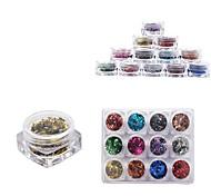 Недорогие -12 цвет советы полный ногтей по желанию небольшой площади в штучной упаковке прижимаются симфония прозрачной ромба маленьких пайеток