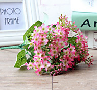 cheap -Artificial Flowers 1 Branch Pastoral Style Plants Tabletop Flower