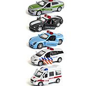 Недорогие -Playsets автомобиля Полицейская машинка Машина скорой помощи Игрушки Автомобиль Металл Классический и неустаревающий Изысканный и