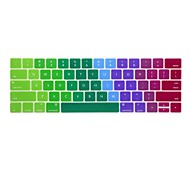cheap -XSKN® English Colorful Silicone Keyboard Skin and Touchbar Protector for 2016 Newest MacBook Pro 13.3/15.4 with Touch Bar Retina (US Layout)