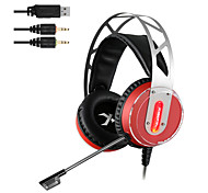 cheap -XIBERIA V12 Gaming Headset Led Light Computer Super Bass Casque Audio Vibration And Glow Pc Gamer Headphones With Microphone
