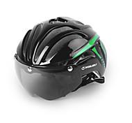 Недорогие -Мотоциклетный шлем Велоспорт 11 Вентиляционные клапаны Регулируется Вуаль Горные Город Закрытый шлем Ультралегкий (UL) Молодежный Горные
