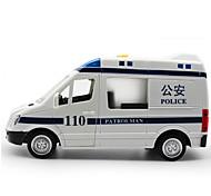Недорогие -Игрушки Полицейская машинка Игрушки Большой размер Машинки с инерционным механизмом Музыка и свет Автомобиль Металл 1 Куски Детские