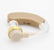 Недорогие -х-186 лучший цифровой слуховой Объем средств регулируемый тон повесить ухо звук усилитель аудифона