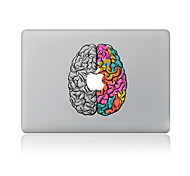 For MacBook Air 11 13/Pro13 15/Pro With Retina13 15/MacBook12 Color The Brain Decorative Skin Sticker