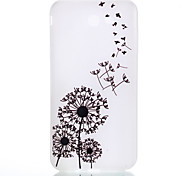 cheap -Case For Samsung Galaxy J7(2016) J5(2016) Glow in the Dark Frosted Translucent Pattern Back Cover Dandelion Soft TPU for J7 (2016) J5