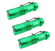 U'King LED Flashlights/Torch LED 1500 Lumens 3 Mode Cree XP-E R2 Batteries not included Adjustable Focus for Camping/Hiking/Caving